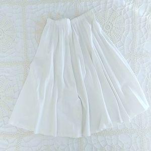 🎁 Vintage Graff California Wear White  Skirt